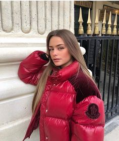 9 Likes, 0 Comments - Nicole Moncler, Down Puffer Coat, My Images, Cool Girl, Winter Jackets, Jackets For Women, Leather Jacket, Female, Womens Fashion