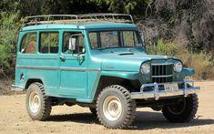 Off-Road Time Warp: 1962 Jeep Willys Underground Concept - Popular Mechanics Jeep Willys, Willys Wagon, Jeep Wagoneer, Jeep 4x4, Jeep Truck, Chevy Trucks, Pickup Trucks, Jeep Pickup, Toyota Trucks