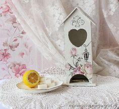 Чайный домик шебби-шик 'Розовый мир' - шебби шик, необычные принадлежности для дома и интерьера. МегаГрад - город мастеров