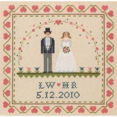 Interchangable Wedding Sampler Cross Stitch