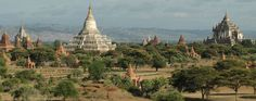 The Ancient City of Bagan, Myanmar (Burma).