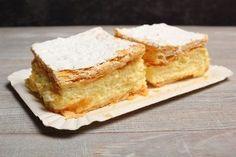 Milhojas de crema pastelera Cornbread, Cheesecake, Sweets, Snacks, Ethnic Recipes, Desserts, Food, Relleno, Yogurt