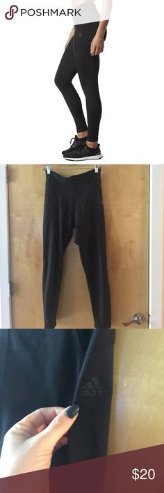 Adidas Women's Training High Rise Long Tights Black Adidas Women's Training High Rise Long Tights. Worn once, great for athletic training or athleisure. adidas Pants Leggings