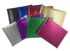 Range of Bubble Wrap Bags are a cost effective, labour saving protective packaging solution. Available as loose or perforated, the range of Bubble Wrap Bags can be custom sized and designed to suit any application, big or small. Bubble Wrap Bags, Bubble Wrap Envelopes, Red Blue Green, Purple, Different Types Of Colours, Colored Bubbles, Acrylic Invitations, Shipping Envelopes, Creative