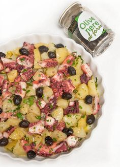 Aggiunta olive al forno