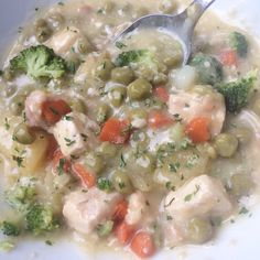 Crockpot Chicken Pot Pie Stew – The Hungry Homemaker Blog