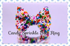 Hey, I found this really awesome Etsy listing at https://www.etsy.com/listing/163465000/awesome-yummy-real-sprinkle-adjustable