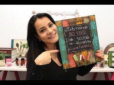 DIY | Faça Você Mesmo | Marmorizado com Vela | Livia Fiorelli | Life Artesanato - YouTube