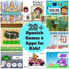 Best Spanish Games Apps Kids- Kid World Citizen