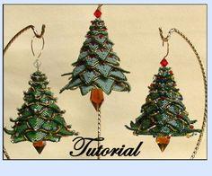 Weihnachtsbaum Ornament-Perlen von beadedpatterns auf Etsy