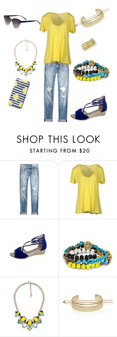 """""""Limoncello anyone?"""" by mertensmk on Polyvore featuring rag & bone, American Vintage and Chloe + Isabel"""