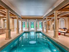Indoor pool - home for sale in Asheville NC