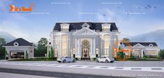 House Arch Design, Mansions Homes, Luxury Villa, New Model, Luxury Homes, Beautiful Homes, House Plans, Architecture, House Styles