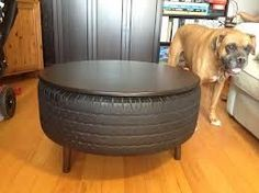 repurposing furniture - Google Searchman great for a mans cave/garage even patio!! Cool idea - interiors-designed.com