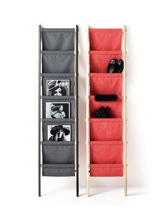 "Neat multipurpose rack via ""New 2013 Note Design Studio Products Photo"""