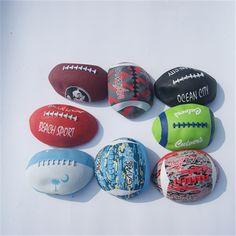 8e70e842c0 2016 le Plus Récent vente Chaude 5 balles en caoutchouc rugby football ballon  de plage Formation