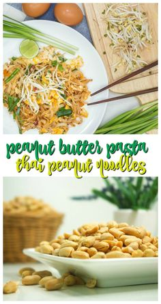 Peanut Butter Pasta Recipe with Bean Sprouts and Veggies Gourmet Recipes, Pasta Recipes, Healthy Recipes, Bean Sprout Recipes, Butter Pasta, Dinner Recipes Easy Quick, Bean Sprouts, Chicken Skewers, Fresh Pasta