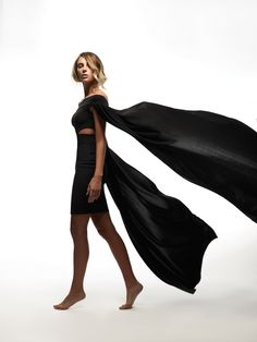 """Baltimore designer BISHME R. CROMARTIE Bishme's ebulliently sexy """"Julia"""" cutout dress is made of Ponte de Roma knit fabric. We want to spin the room—any room—in this magical thing. Made to order. Learn more at bishmercromartie.com."""