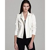 Rebecca Taylor Jacket - Moto with Leather