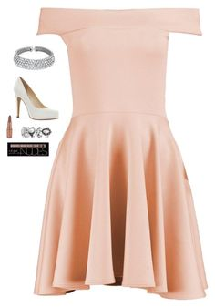 """Untitled #4509"" by if-i-were-famous1 ❤ liked on Polyvore featuring Boohoo, Bling Jewelry, Jessica Simpson and Charlotte Russe"