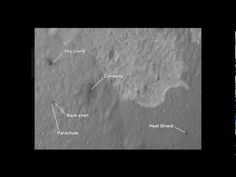 Curiosity rover landing site overview
