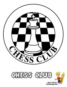 Chess Club Picture To Print Out at YesColoring