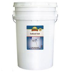 Augason Farms Iodized Salt Pail - 50 lbs. - Sam's Club