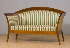 komplet wypoczynkowy stylowy z drewnem - pasy