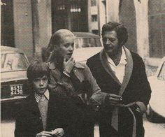Catherine Deneuve, Marcello Mastroianni and Christian Vadim