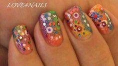 COLORFUL NAIL DESIGN FOR SHORT NAILS by LOVE4NAILS - Nail Art Gallery nailartgallery.nailsmag.com by Nails Magazine www.nailsmag.com #nailart
