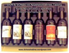 Cute Sample Kit of @donandsons Appellation Wines!