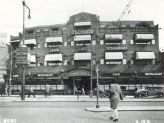 Cafe Pschorr Coolsingel Rotterdam. Architect Willem Kromhout