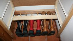 Stiefelhalterung aus Gitterbett / Boots holder made from crib / Upcycling