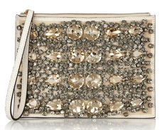 Marni Crystal-Embellished Pouch-                 d