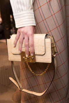 The Raddest Bags From London Fashion Week  Mulberry Spring '17