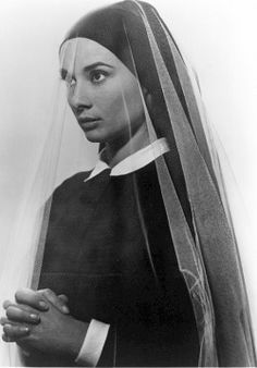 Audrey Hepburn in The Nuns Story, 1959