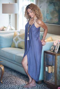 Azul Wrap Dress