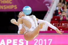 Alexandra SOLDATOVA (Russia) ~ Ball @ EC Budapest-Hyngary Gimnastica Ritmica Italiana.