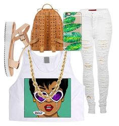 """""""•"""" by rods4l ❤ liked on Polyvore featuring 2LUV, Bamboo, MCM and Casetify"""