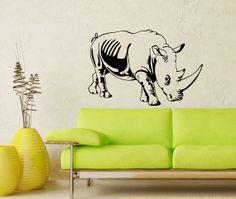 Wall Vinyl Decal Sticker Art Design Wild Animal by VinylDecals2U, $24.65