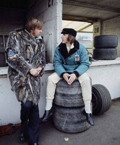 Jackie Stewart and Ronnie Peterson 1971