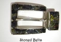Belt Buckle BLOODSTONE from INDIA Ladies Belt by StonedBelts