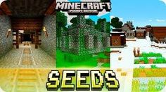 Minecraft PE Seeds - Jungle Temples, Mineshaft and Villages with Houses! 0.16.0 / 0.15.0 MCPE