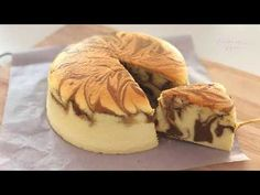 Coffee Marble Light Cheesecake 咖啡大理石轻芝士蛋糕 - YouTube Light Cheesecake, My Favorite Food, Favorite Recipes, No Bake Desserts, Baking Desserts, Cheesecakes, My Recipes, Good Food, Marble