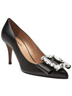 Kallisté jeweled bow heel | womens pumps | womens shoes | womens heels | style | fashion | wantering