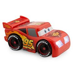 Disney Lightning McQueen Flashlight | Disney StoreLightning McQueen Flashlight - Let Lightning lead the way with this novel flashlight. Shaped in the form of the Piston Cup champion and featuring pullback action, Lightning travels at the speed of light when you turn on his bright headlights.