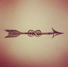Arrow and infinity sign together, I likey.