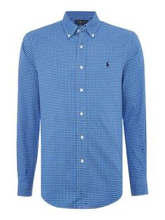 ralph lauren quilts, Mens polo ralph lauren clothing   polo ralph lauren  long sleeve slim fit mini check shirt - blue casual shirts,ralph lauren polo  boots, ... 9ab0c02fdf53