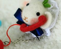 Holiday special price IS cute animal brooch Poking by IngenSupply