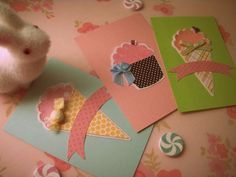 Super cute cards. Good enough to eat.